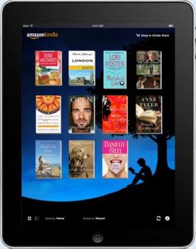 Kindle em um iPad