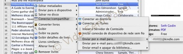 Email Kindle via Calibre - emvio de email 02