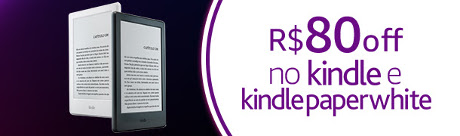 Kindle e Kindle Paperwhite na Amazon
